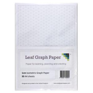 A4 isometric paper
