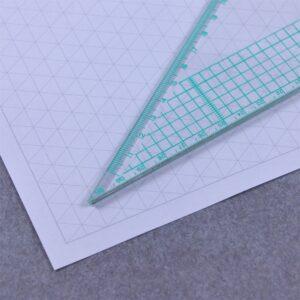 a4 isometric grid